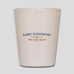 Arrested Development Barry Zuckerkorn Shot Glass