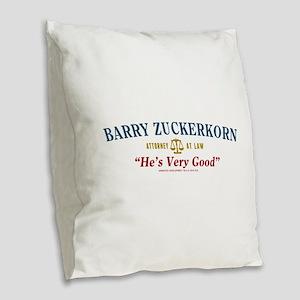 Arrested Development Barry Zuc Burlap Throw Pillow