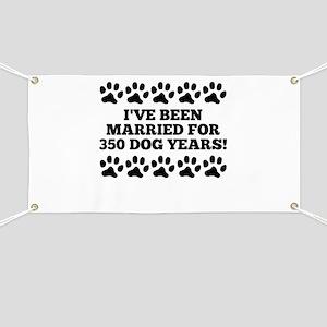 50th Anniversary Dog Years Banner
