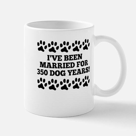 50th Anniversary Dog Years Mugs
