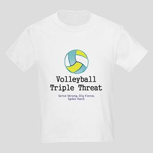 Volleyball Slogan Kids Light T-Shirt