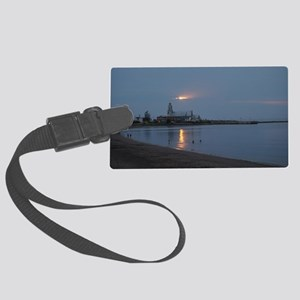 Ste-Luce Beach Large Luggage Tag