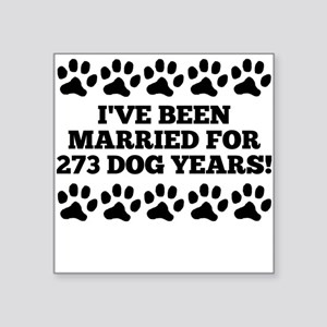 39th Anniversary Dog Years Sticker