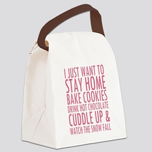 Cold Weather Cure Canvas Lunch Bag