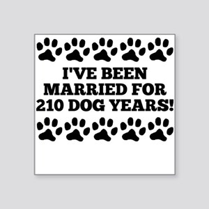 30th Anniversary Dog Years Sticker