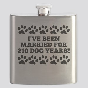 30th Anniversary Dog Years Flask