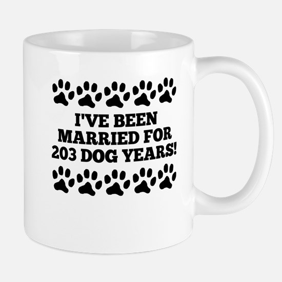 29th Anniversary Dog Years Mugs