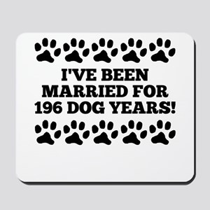 28th Anniversary Dog Years Mousepad