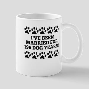 28th Anniversary Dog Years Mugs