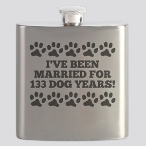 19th Anniversary Dog Years Flask