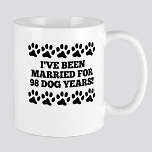 14th Anniversary Dog Years Mugs