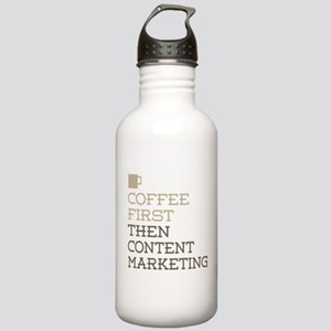 Content Marketing Stainless Water Bottle 1.0L