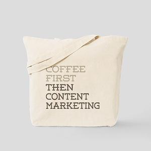 Content Marketing Tote Bag