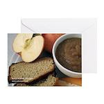 Microwave Applesauce Recipe Card