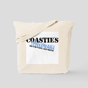 She who waits: Coastie's Swee Tote Bag