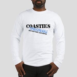 She who waits: Coastie's Swee Long Sleeve T-Shirt
