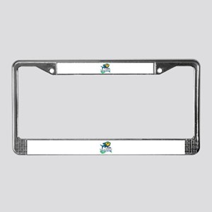 Save The Oceans License Plate Frame