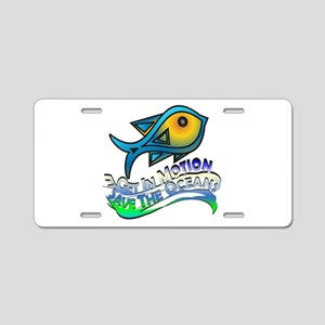 Save The Oceans Aluminum License Plate