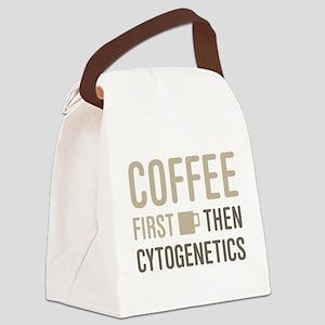 Coffee Then Cytogenetics Canvas Lunch Bag