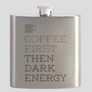 Coffee Then Dark Energy Flask