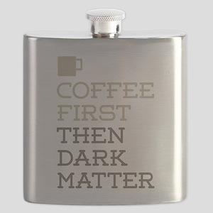 Coffee Then Dark Matter Flask