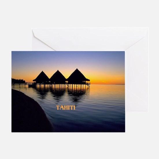 Cute Tahiti Greeting Card