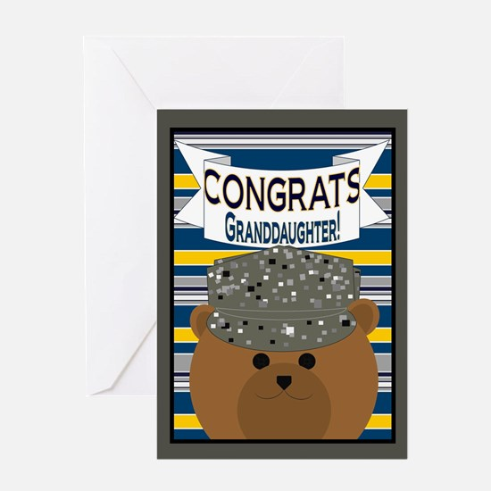 Blank Congrats Granddaughter Usaf Greeting Cards