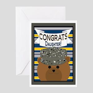 Congrats Daughter Air Force Airman Greeting Card