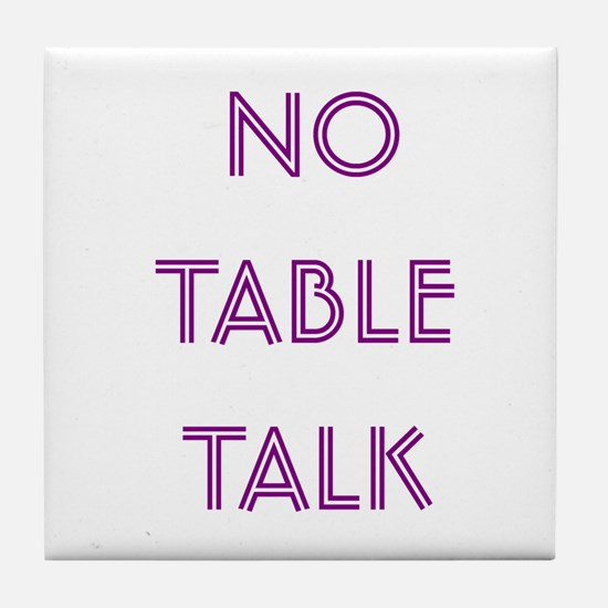 Euchre Table Talk Tile Coaster