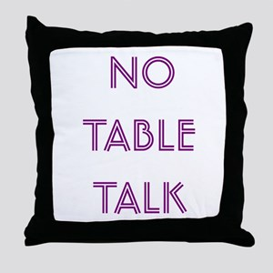 Euchre Table Talk Throw Pillow