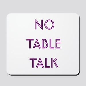 Euchre Table Talk Mousepad