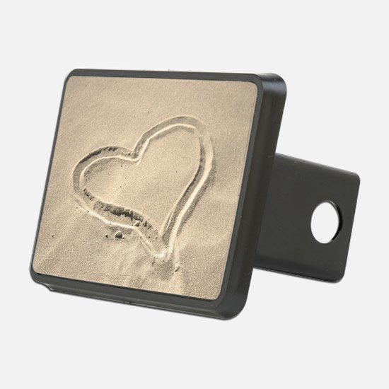 Heart in the sand Hitch Cover