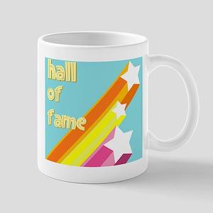 Retro Shooting Stars Hall OF Fame Mug