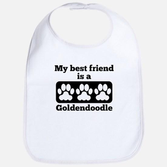 My Best Friend Is A Goldendoodle Bib