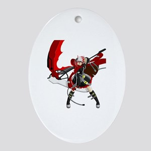 Runa Oval Ornament