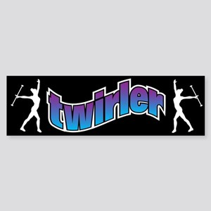 Twirler Bumper Sticker