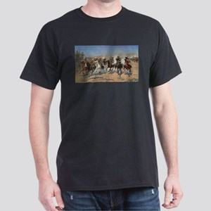A Dash For Timber by Remington T-Shirt