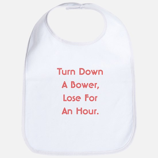 Turn Down Bower Bib