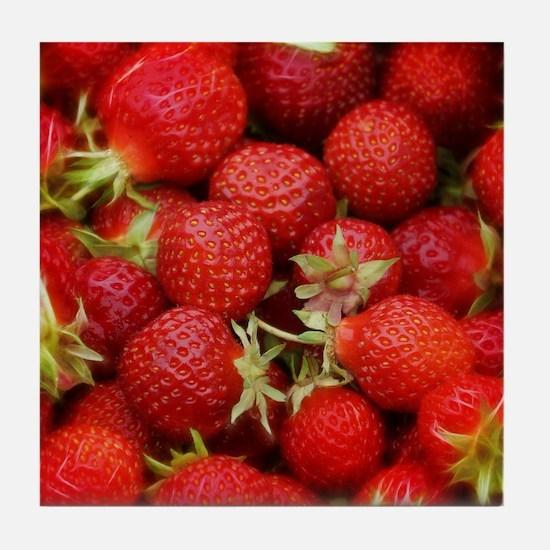 Strawberry Hills Tile Coaster