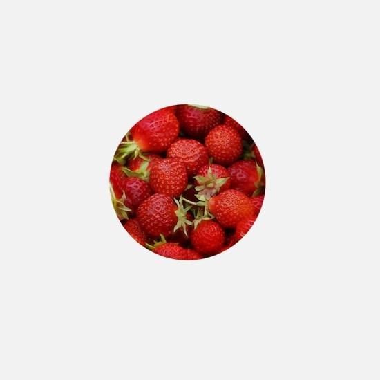 Strawberry Hills Mini Button