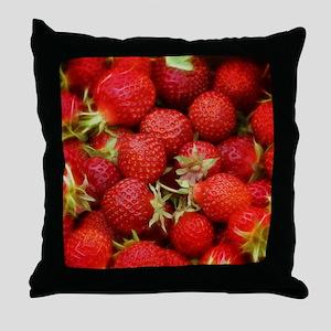 Strawberry Hills Throw Pillow