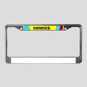 GIT YER OWN DAMN SAMMICH License Plate Frame