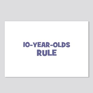 10-Year-Olds~Rule Postcards (Package of 8)