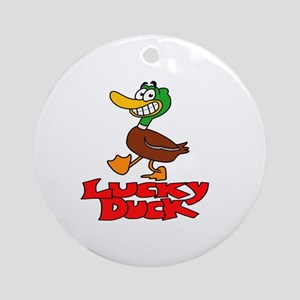 Lucky duck Ornament (Round)