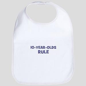 10-Year-Olds~Rule Bib