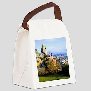 Chateau Frontenac Castle Canvas Lunch Bag