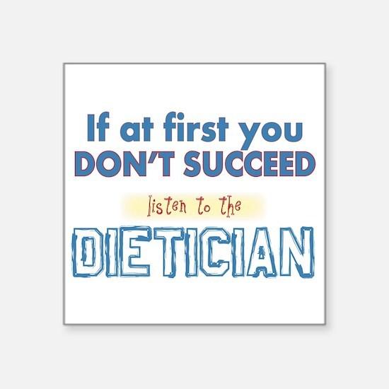 Dietician Sticker