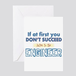 Engineer Greeting Cards