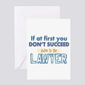 Lawyer Greeting Cards
