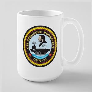 Uss Theodore Roosevelt Cvn 71 Mugs